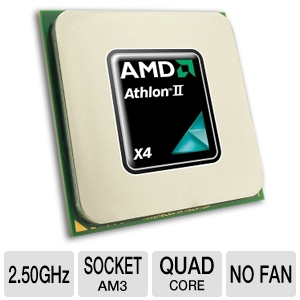AMD Athlon II X4 615e 2.50GHz Quad-Core OEM CPU