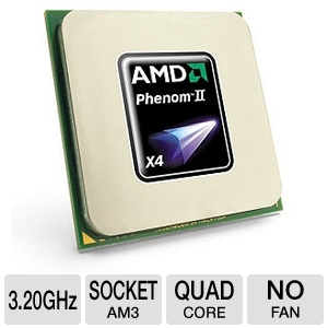 AMD Phenom II X4 955 3.2GHz Quad-Core BE CPU OEM