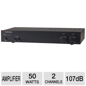 Audiosource AMP100 - 50-Watt 2-Channel Power Amp