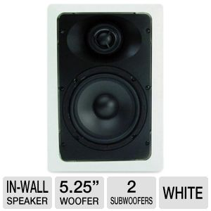 AudioSource AC5W 2-Way In-Wall Speaker