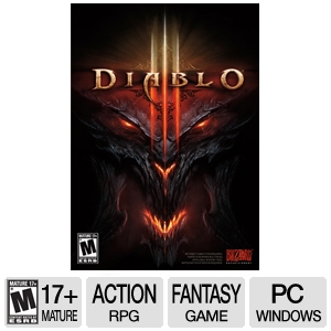 Diablo III Action RPG Video Game for PC