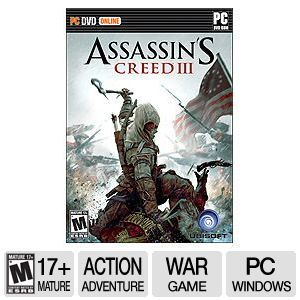 Ubisoft Assassin's Creed 3 ERSB M PC Game