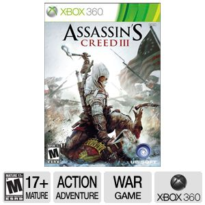 Ubisoft Assassin's Creed 3 ERSB M Xbox360 Game