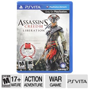 Ubisoft Assassin's Creed 3 Liberation PS Vita Game