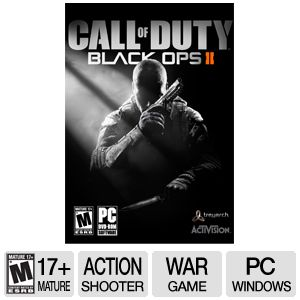 Activision COD: Black Ops 2 ERSB M PC Game