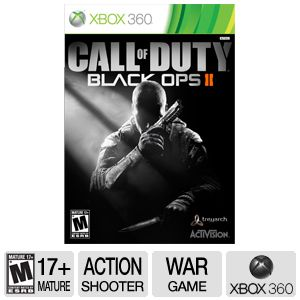 Activision COD: Black Ops 2 ERSB M Xbox 360 Game
