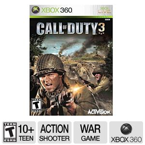 Activision Call Of Duty 3 Video Game for Xbox 360