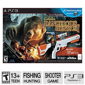 Cabela's Dangerous Hunts 2011 Bundle for PS3