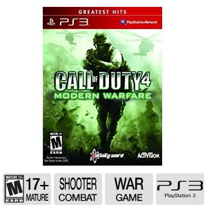 Call of Duty 4 Modern Warfare Greatest Hits on PS3