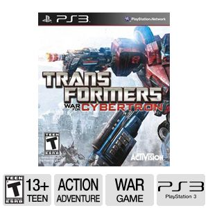 Transformers: War For Cybertron PS3