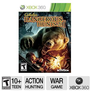 Cabellas Dangerous Hunts 2011 for Xbox 360