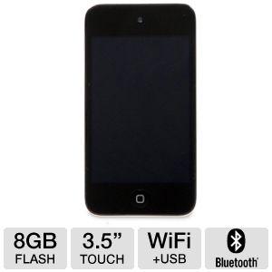 Apple� iPod� Touch Black 8GB MP3 Player