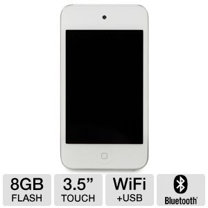 Apple� iPod� Touch White 8GB MP3 Player