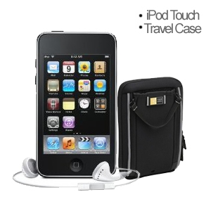 Apple iPod Touch MP3 Player & Travel Case Bundle