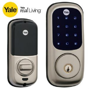 Yale Real Living Key Free Touch Screen Deadbolt