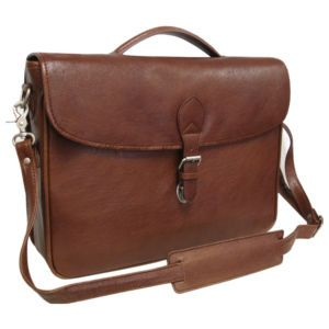 Montana Leather Executive Briefcase - 2495-2