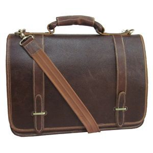 Traditional Double Slip-in Executive Briefcase - 2