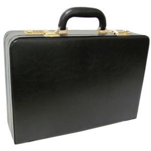Amerileather Exe. Faux Leather Attache - 2893-9