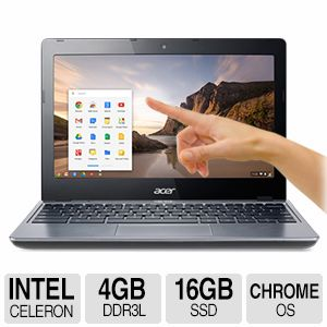 "Acer Chromebook Dual-Core 11.6"" Notebook PC"