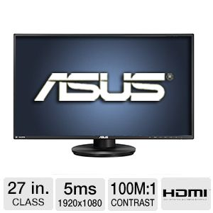 "ASUS VN279QL 27"" 178� Ultra Wide Ergonomic Monitor"
