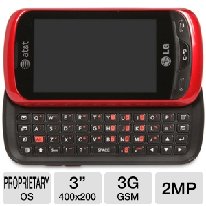 AT&amp;T LG Xpression Cell Phone