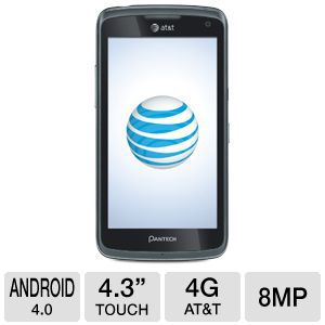AT&amp;T Pantech Flex P8010 Android OS Cell Phone