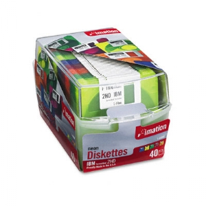 DISKETTE,NEON,DS-HD,40PK
