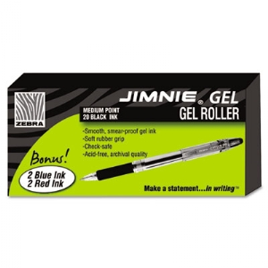 Gel Pen, 0.7MM, Rollerball, Black