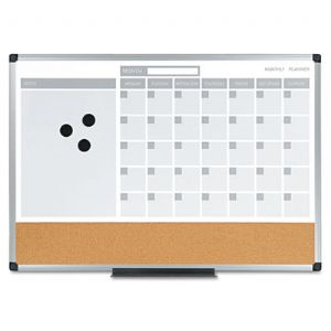 MasterVision� 3-in-1 Planner Board
