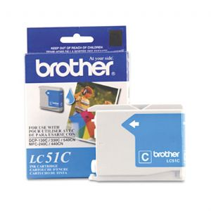 Brother® LC51BK, LC51C, LC51HYBK, LC51M,