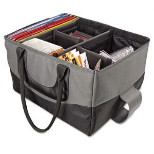BAG,FILE TOTE,GY