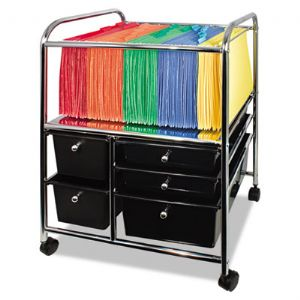 Advantus� Letter/Legal File Cart with Fi