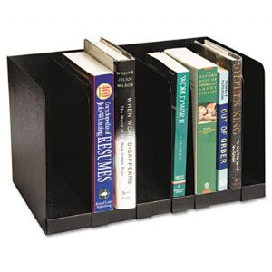 Buddy Products Steel Six-Section Book Ra