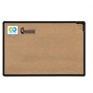 Best-Rite� Black Splash-Cork Board
