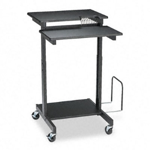 WORKSTATION,ADJUSTABLE,BK