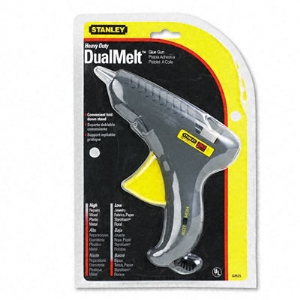 GLUE GUN,DUAL MELT,BK