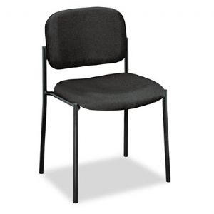 CHAIR,GUEST ARMLESS,BK