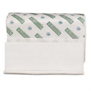 TOWEL,M-FOLD, GN PLUS,WHT