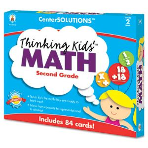 CARD,THINKNG KDS MTH,GR-2