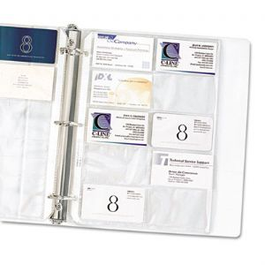 REFILL,CARD HOLDER 10/PK
