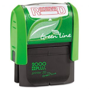 2000 PLUS� Green Line Self-Inking Messag