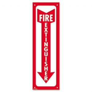 SIGN,FIRE EXTINGUISHER,WH