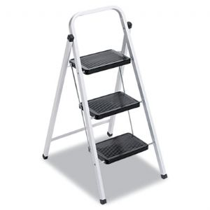 LADDER,3-STEP STOOL,WH