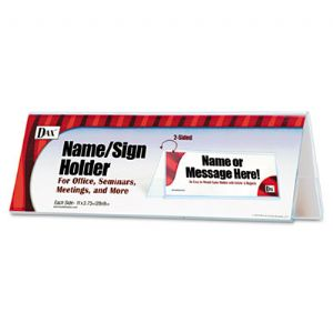 SIGN,4X11,HOLDER,CLR