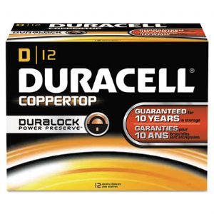 BATTERY,COPPERTOP D BULK