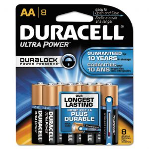 BATTERY,ULTRA,AA,8/PK