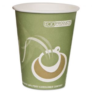 CUP,12OZ PCF HOT CUP,SGN
