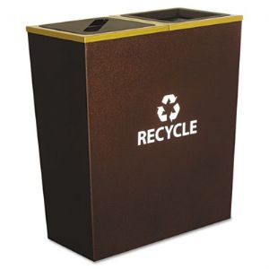 RECEPTACLE,RCY,36GAL,DBLE
