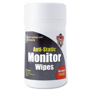 WIPES,ANTI STATIC,80/TUB