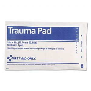 First Aid Only� Trauma Pad